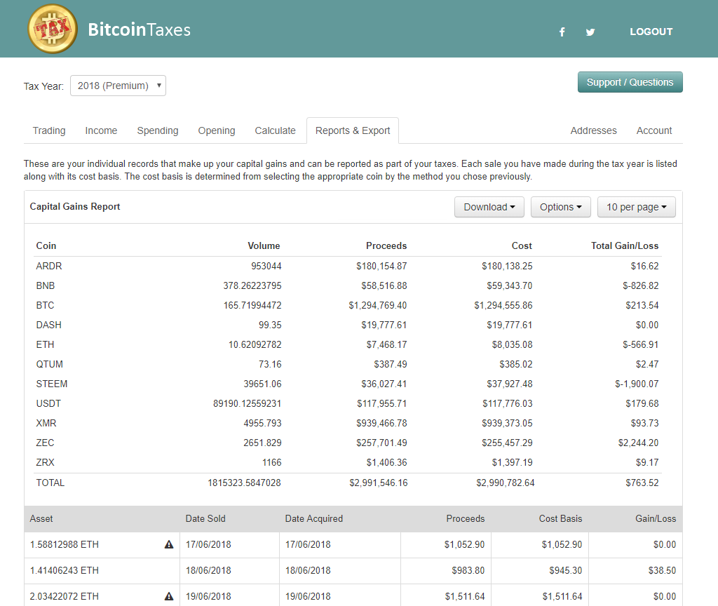 trading cryptocurrency and taxes